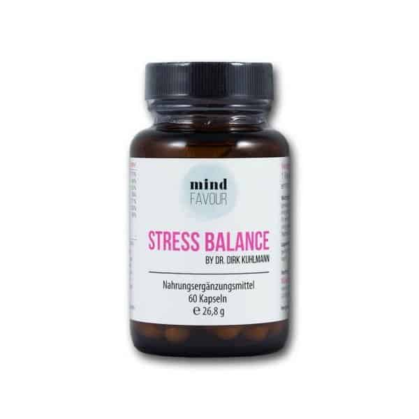 MIND FAVOUR Food Supplements Stress Balance Capsules Buy Antistress Relax 2019
