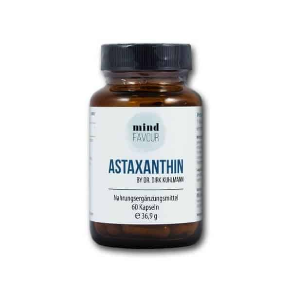 MIND FAVOUR Food Supplements Vegan Astaxanthin Capsules Buy 2019