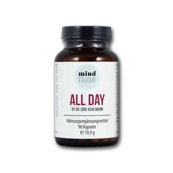 MIND FAVOUR Food Supplements All Day Capsules Buy Vitamins and Minerals for Every Day 2019