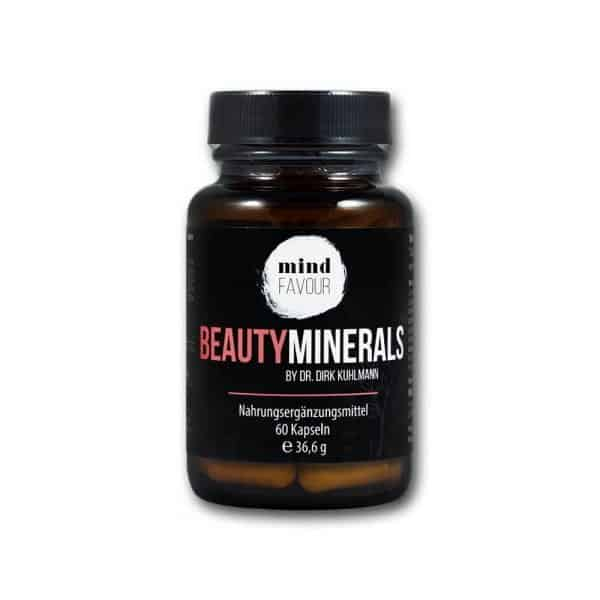 MIND FAVOUR Food Supplements Beauty Minerals Capsules Buy Natural Beauty From Inside 2019