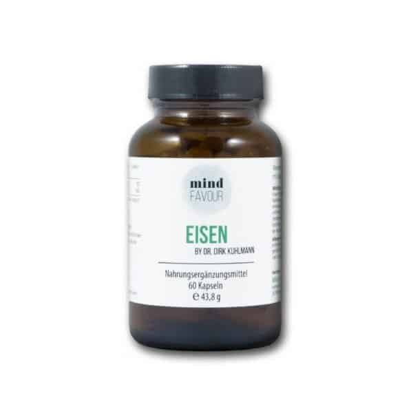 Naturligt jern fra karryblad ekstrakt phytoferrin og C-vitamin fra hyben frugt ekstrakt